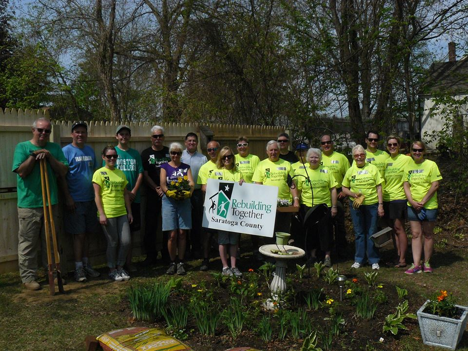 Rebuilding Together Saratoga with Roohan Realty and AIM Services, Inc.