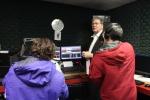 3 people in Jockey Radio 1