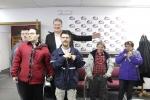 Group of people in Jockey Radio 1
