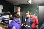 Group of people in Jockey Radio
