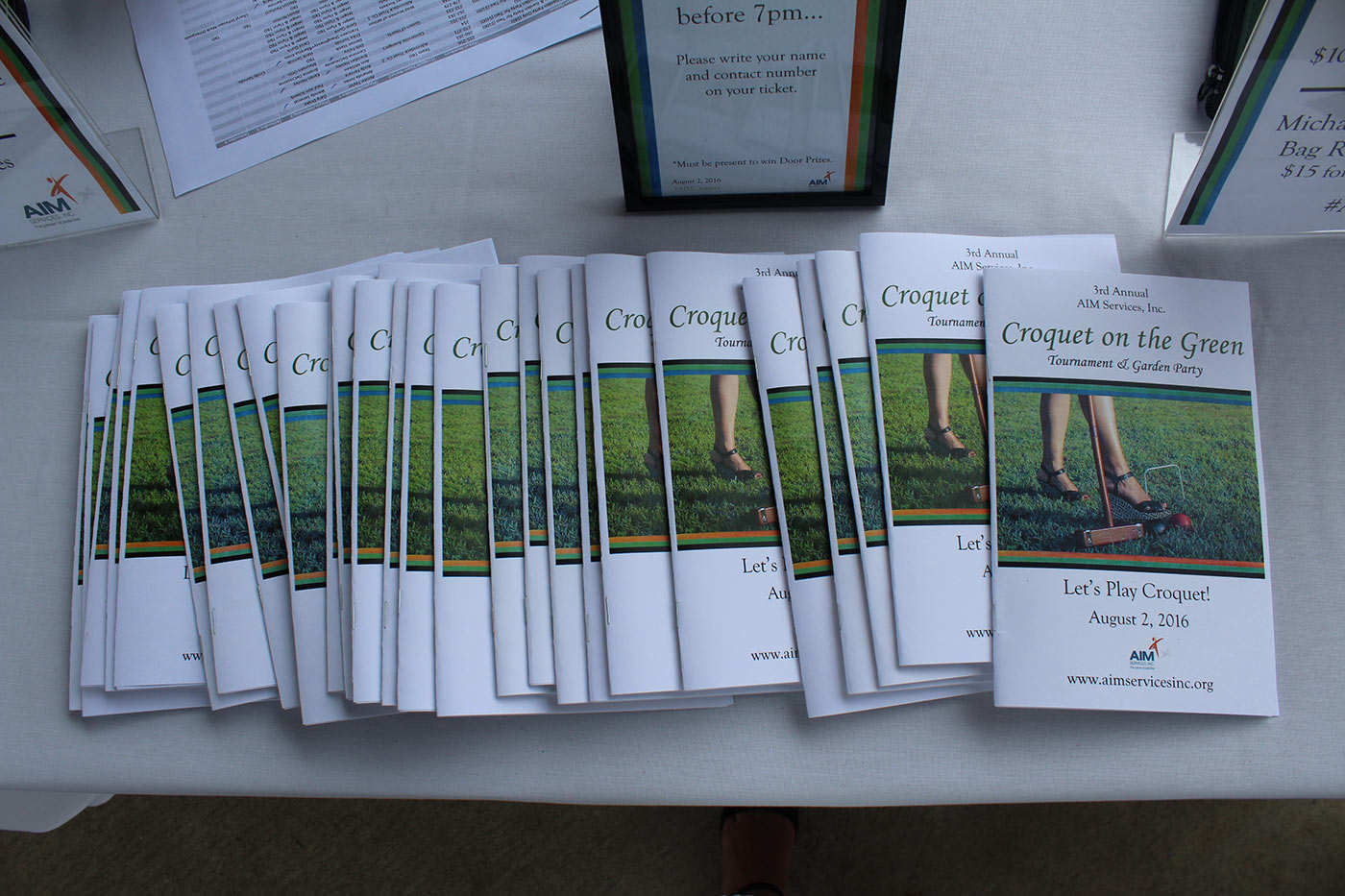3rd Annual Croquet on the Green 2016 ebook