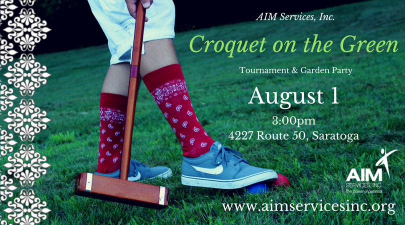 Croquet on the Green, August 1 at 3pm
