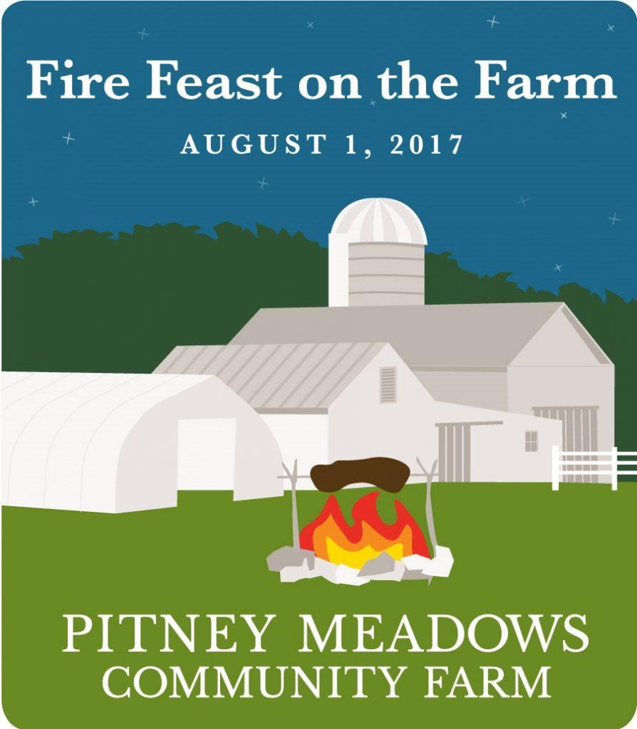 Pitney Meadows Community Farm for their Fire Feast on the Farm event