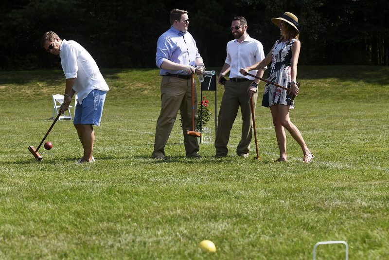 Croquet teams at Croquet on the Green