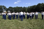 42nd Infantry Division Band at Croquet on the Green