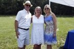 2 Women and man at Croquet on the Green