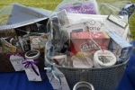 Basket raffles at Croquet on the Green