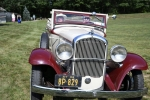 Classic car at Croquet on the Green