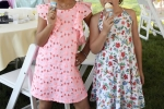 Croquet on the Green kids eating vanilla ice cream