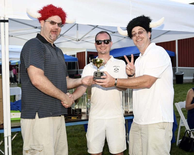 Croquet on the Green team winners