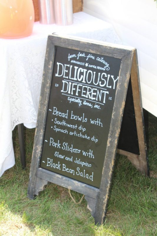 Deliciously Different sign