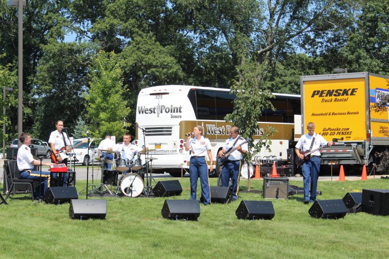 42nd Infantry Band Woman Singing at Croquet on the Green
