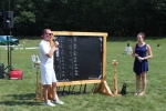 Scoreboard at Croquet on the Green