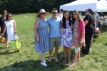 Group for friends at Croquet on the Green