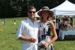 Couple at Croquet on the Green