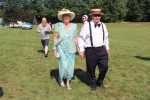 Older couple at Croquet on the Green