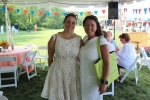 Friendly women at the Croquet on the Green