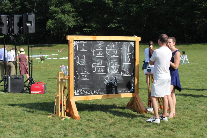 Croquet on the Green team leaderboard