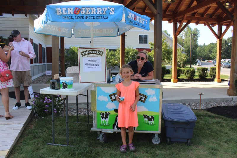 Pat Pipino at Ben & Jerry's Saratoga at Croquet on the Green