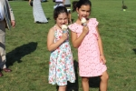 Croquet on the Green with Kids with Ice Cream