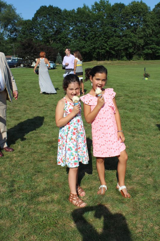 Croquet on the Green Kids with Ice Cream