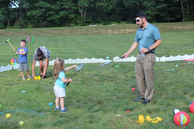 Croquet on the Green Kids Section