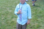 Croquet on the Green kid with drink