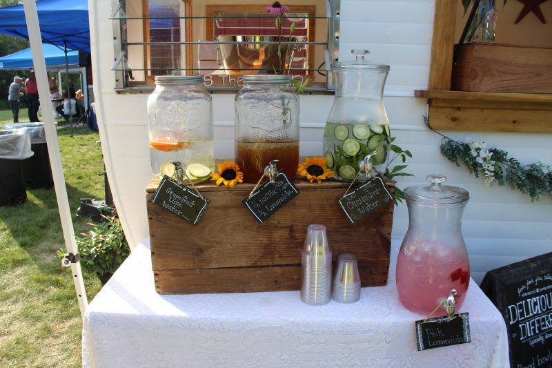 Special drinks at Croquet on the Green