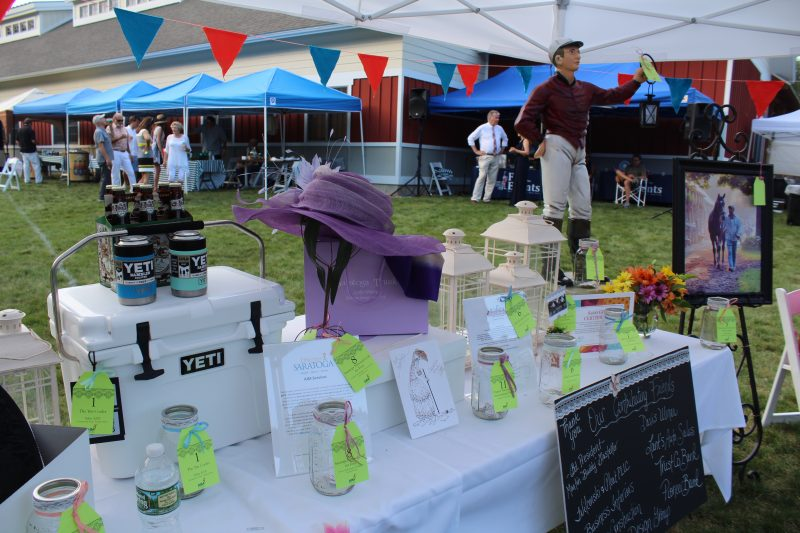 Croquet on the Green raffle items