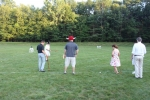 Croquet on the Green Final Tournament players