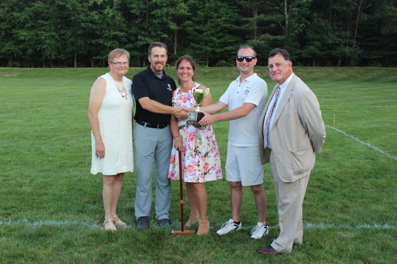Croquet on the Green Tournament Winners at AIM Services Inc