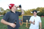 Croquet on the Green 2nd Place Winner with award