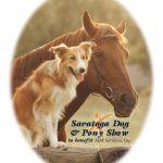 dog show polo fundraiser family event logo