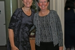 Stacie Bauer, Susan Gorman enjoying the Vin Le Soir event