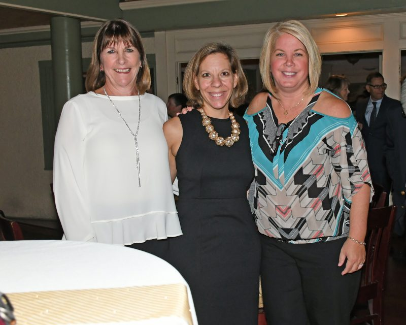 Beth Flynn, Theresa Felton, Kara Rafferty from Jaeger & Flynn Associates enjoying the Vin Le Soir event