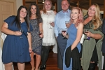 Ashley Stark, Kristi Williams, Amber Suttle, Damon Casey, Katherine Mackay, Brooke Mattison enjoying the Vin Le Soir event