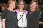Mary Harney, Stephanie Martin, Gail Hibbins enjoying the Vin Le Soir event