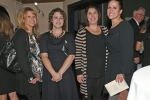 Jennifer Wormley, Rebecca Baldwin, Nicole Iwaniec, Sarah Kline enjoying the Vin Le Soir event