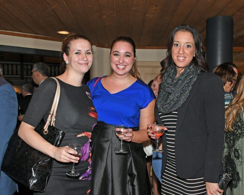 Samantha Burrington, Kelly Richards, Jennifer Modaffari at the Vin Le Soir event