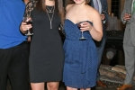 Kate Mulry, Nicole Zumpano enjoying the Vin Le Soir event