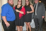 Jody and Alison Vantassell, Brittany Putnam, Tyler Hoosier enjoying the Vin Le Soir event