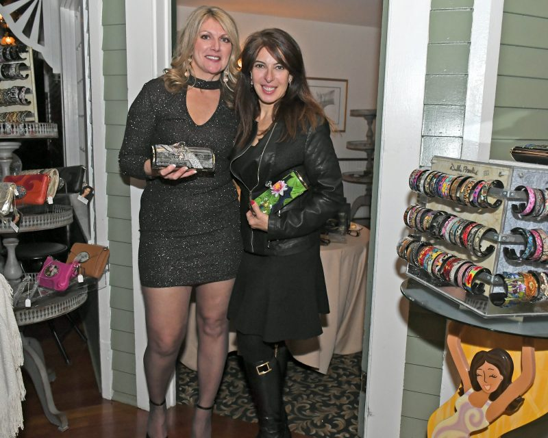 Lynn Corbitt and designer Debbie Brooks photo by Cathy Duffy