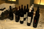 Close up of bottle displays at Specialty Wines & More vendor table