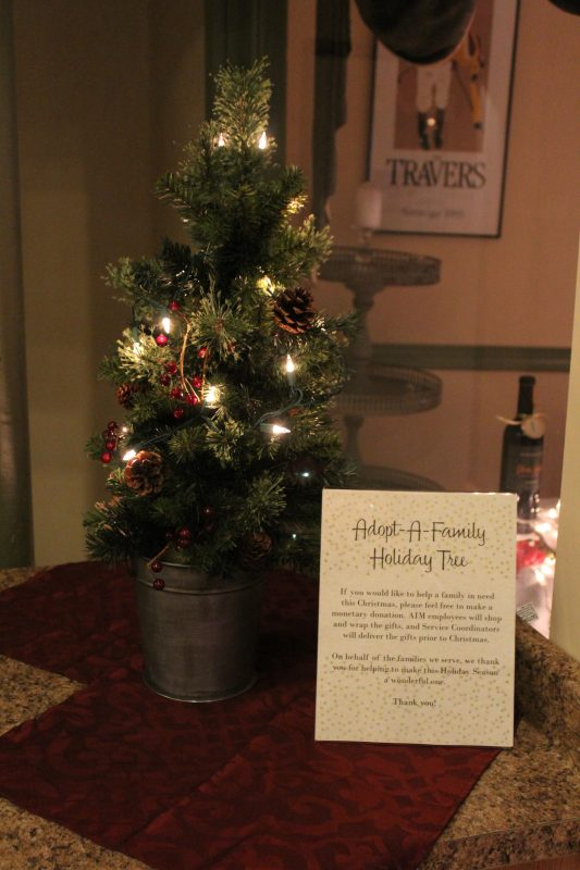 Adopt-A-Family Holiday Tree