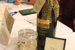 Large format bottle of wine door prize at the Vin Le Soir event