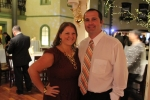Katie and Andy Carson enjoying the Vin Le Soir event