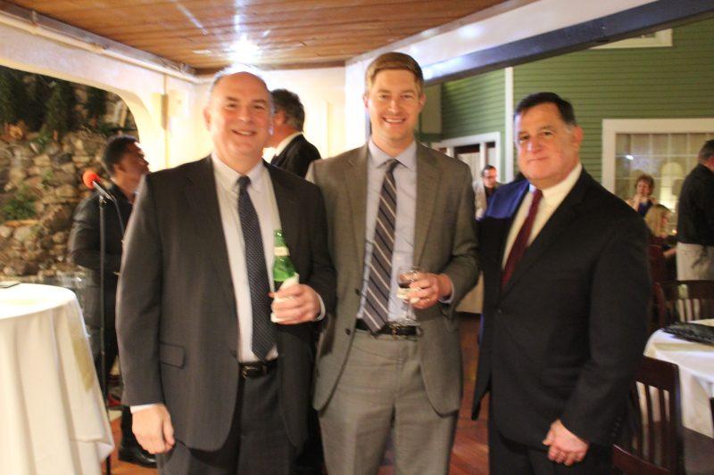 Scott Hartung, Paul von Schenk, Chris Lyons at the Vin Le Soir event