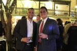 Ryan Duff, Dan O'Keefe at Vin Le Soir event