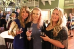Diane Hall, Katherine Mackay, Brooke Mattison enjoying the Vin Le Soir event