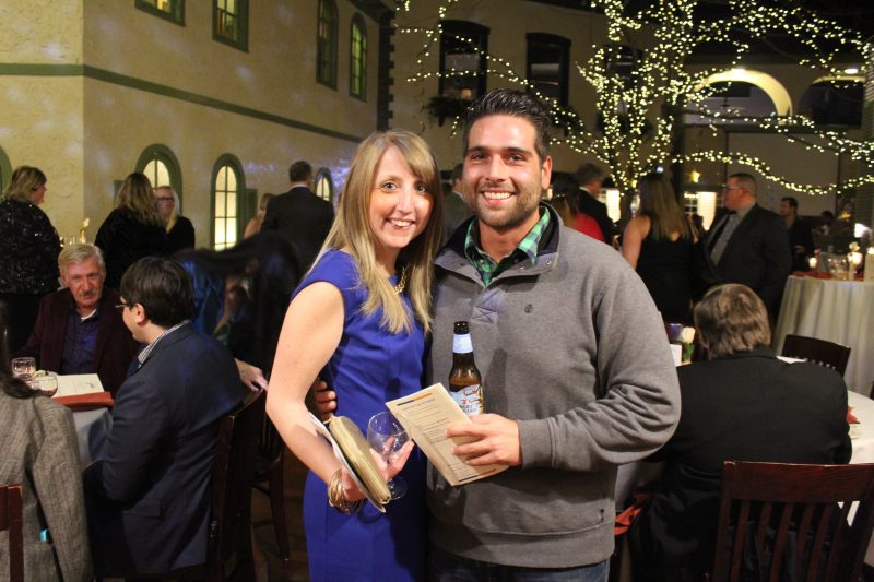 Diane Hall, Danny Nazzaro at the Vin Le Soir event